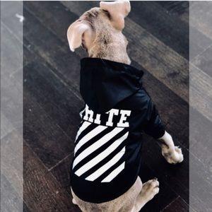 1126cdb0876b Off-White Jackets   Coats - NWT Off White (woof-white) dog